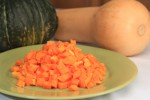 2lb Bag Raw Dice Half Inch Butternut Squash No Skin