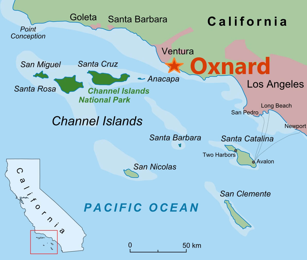 Pacific Coast Route Ventura And Oxnard California ROAD TRIP USA - California national parks usa map