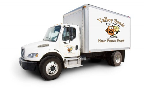 Valley Spuds Potato Trucks
